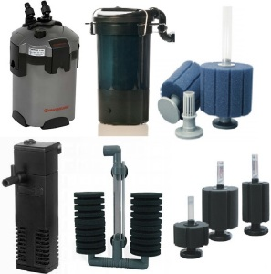 different types of filter
