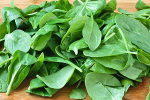 spinach is an excellent green ingredient for fish food